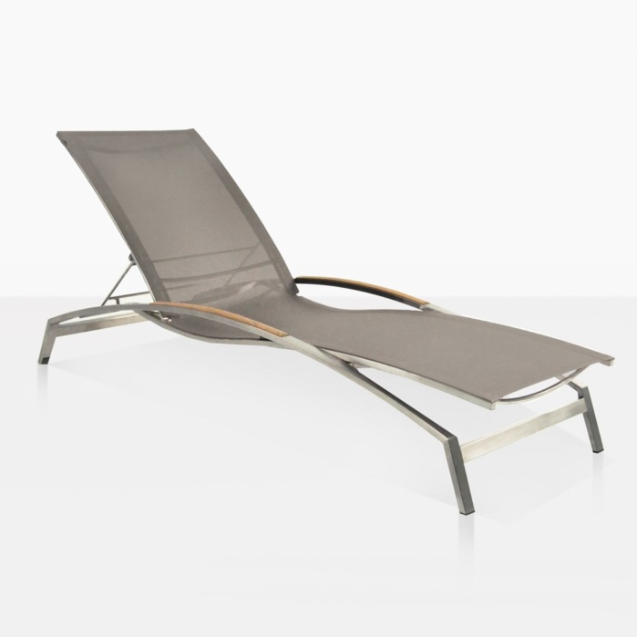 Summer Sun Adjustable Mesh Lounger