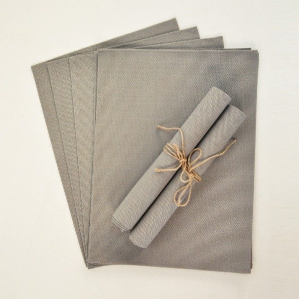 outdoor batyline placemat sets taupe