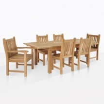 Teak Dining Set For Six