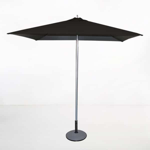 Tiki Square Patio Umbrella (Black)-0
