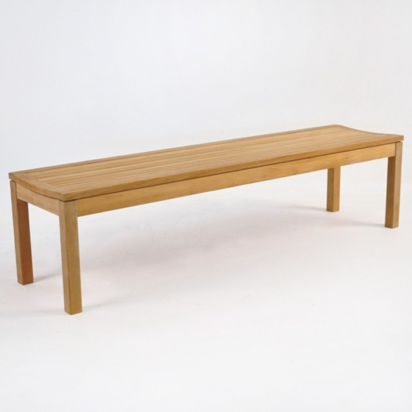 toscana teak backless bench 70 in
