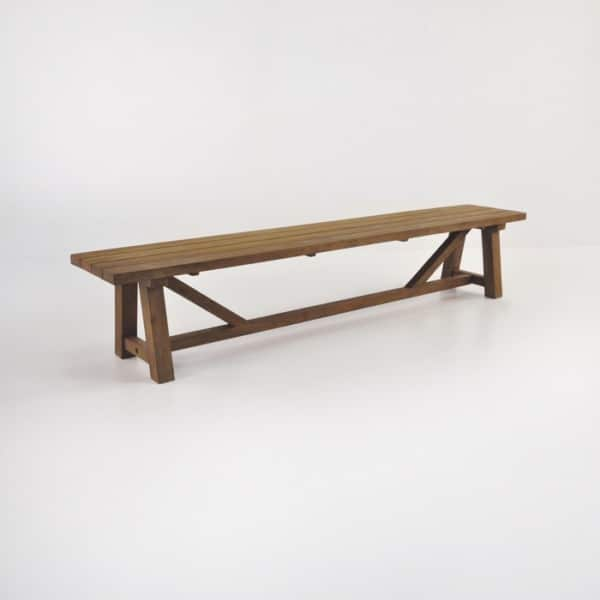 trestle bench 94in