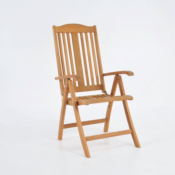 Tuscany Teak Relaxing Reclining Chair-0