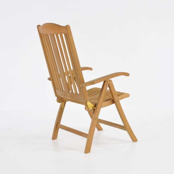 tuscany teak reclining chair