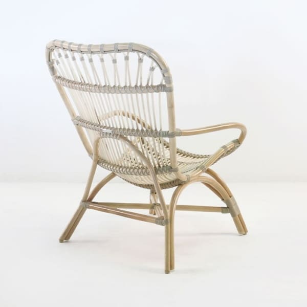 veranda indoor chair rattan back angle view