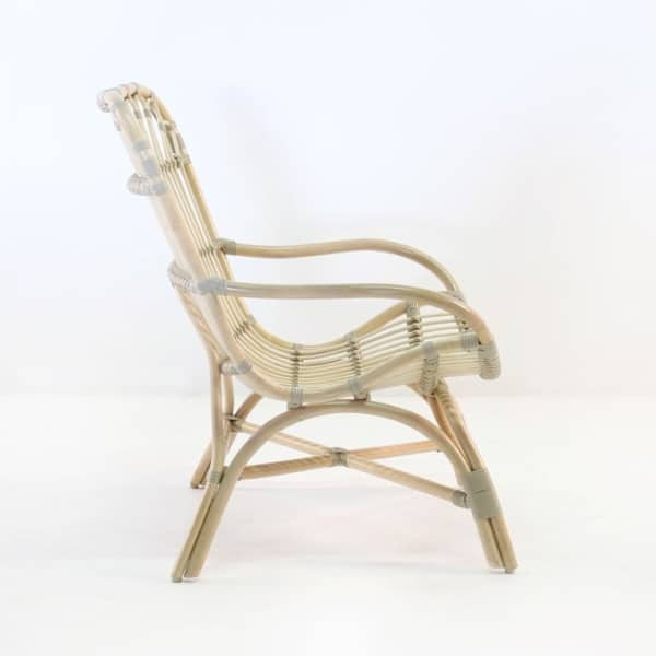 veranda indoor chair rattan side view