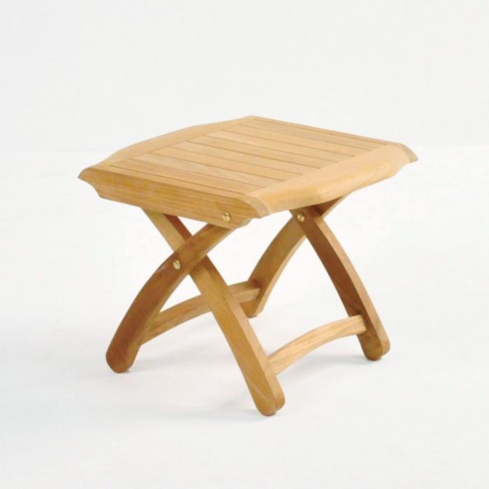 Welsh A-Grade Teak Footstool-0