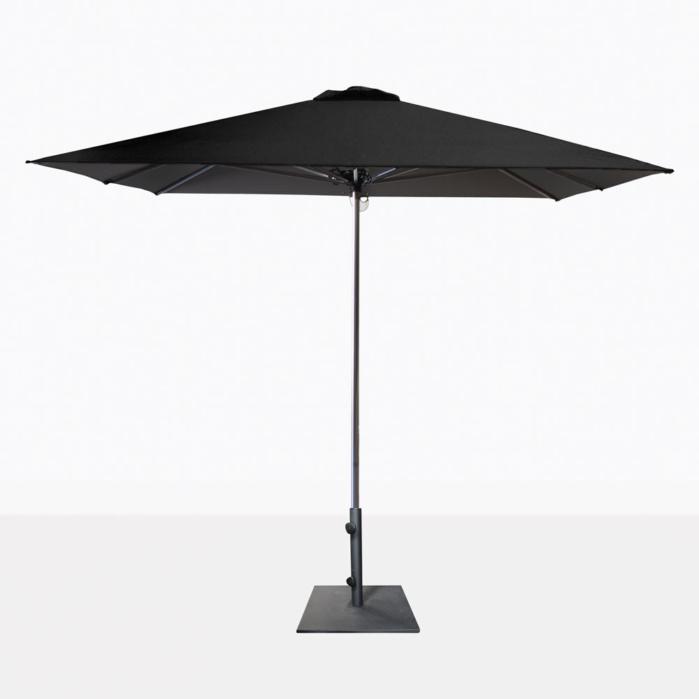 Veradero Black Patio Umbrella With Base