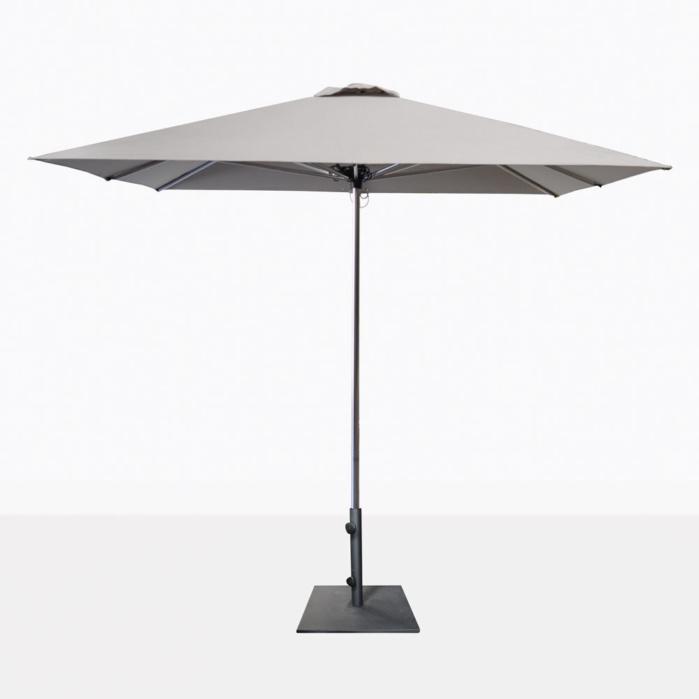 Veradero Grey Patio Umbrella With Base