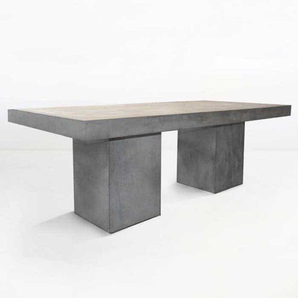 Blok Rectangle Concrete Dining Tables-0