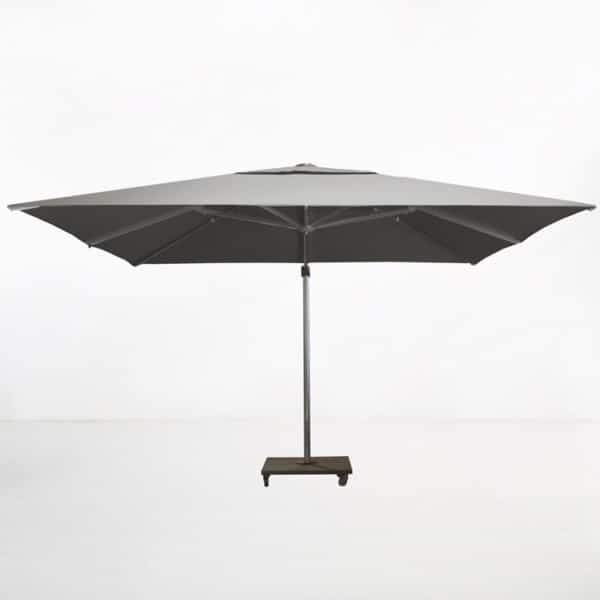 kingston 13ft cantilever umbrella grey side view