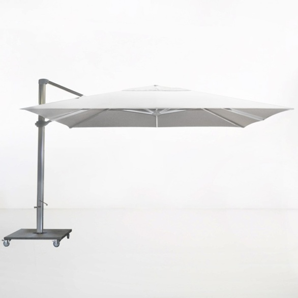 Kingston 13ft Cantilever Umbrella (White)-0