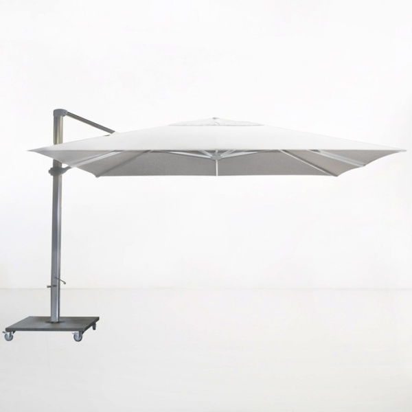 Kingston 13ft Cantilever Umbrella (White)-0