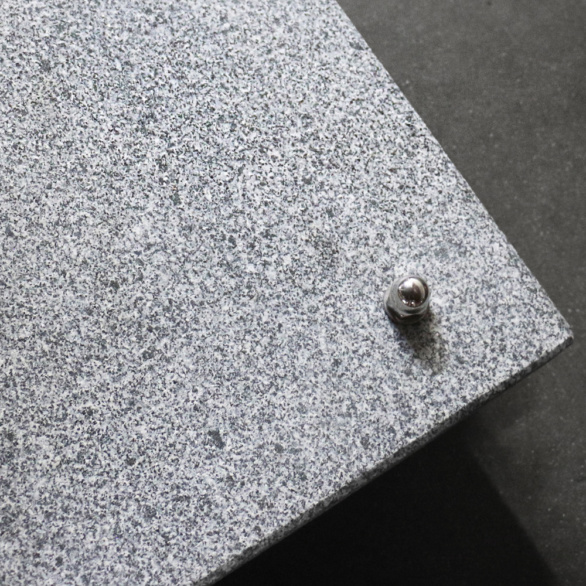 Granite Umbrella Base Closeup