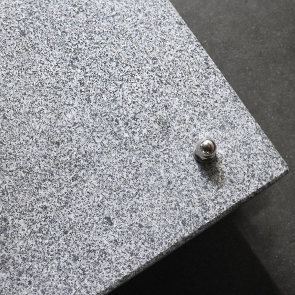 Granite Umbrella Base Closeup