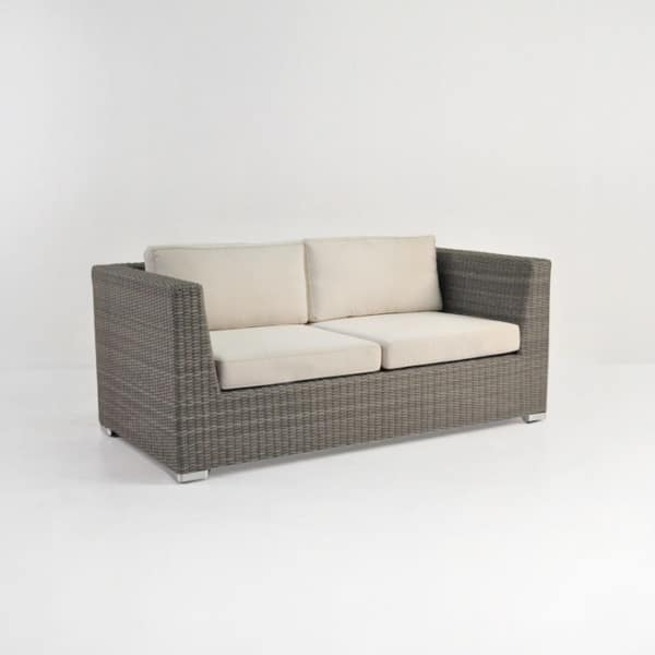 Paulo Outdoor Wicker Loveseat (Kubu)-0