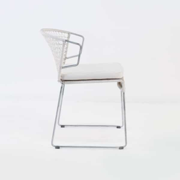 side view - sophia dining chair