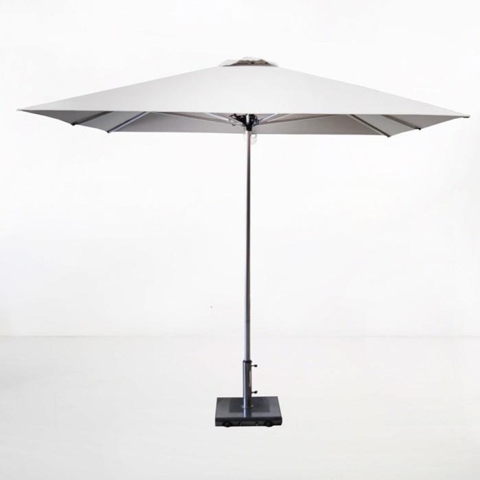 Veradero Patio Umbrella White Outdoor Furniture Teak Warehouse