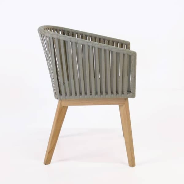 willow dining chair side view