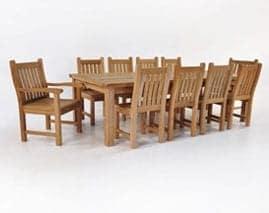 Outdoor Teak Dining Sets