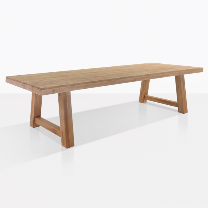 Blok Reclaimed Teak Outdoor Dining Table Teak Warehouse