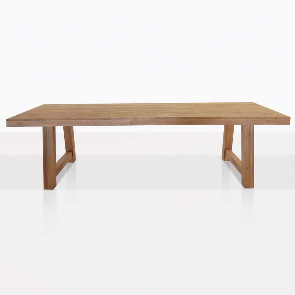Blok Reclaimed Teak Outdoor Dining Table Teak Warehouse