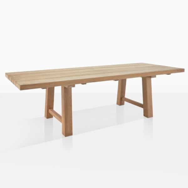 Somerset Reclaimed Teak Outdoor Dining Table