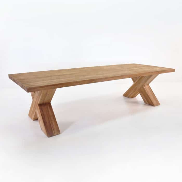 Cross Reclaimed Teak Outdoor Dining Tables