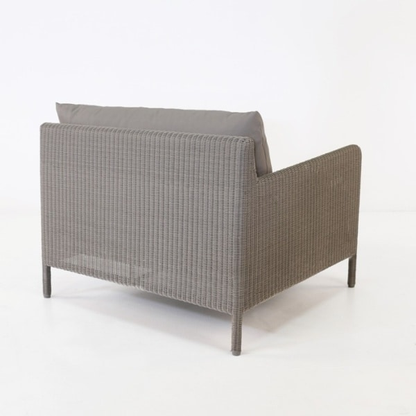zambezi outdoor wicker club chair back
