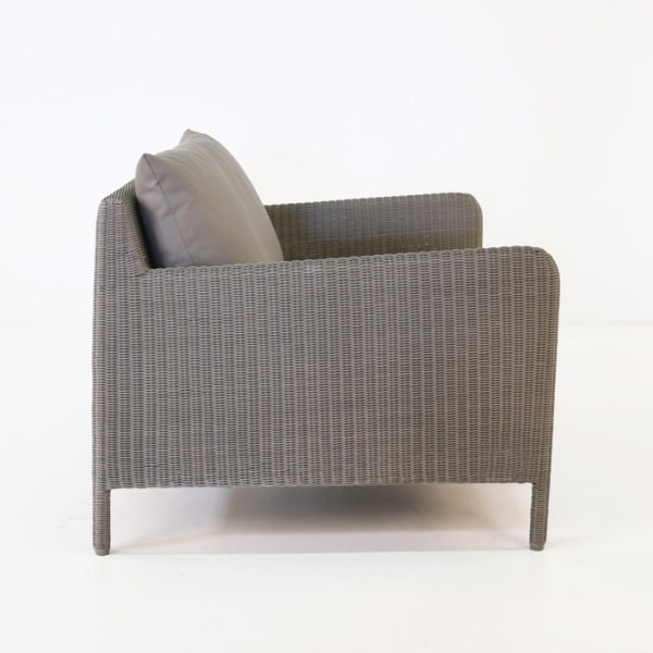 zambezi outdoor wicker club chair side