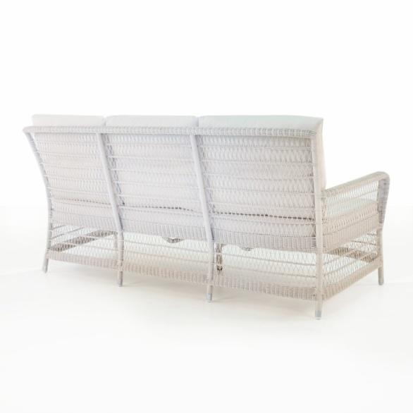 hampton wicker sofa