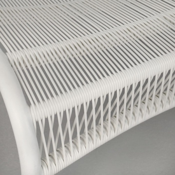white strands close up