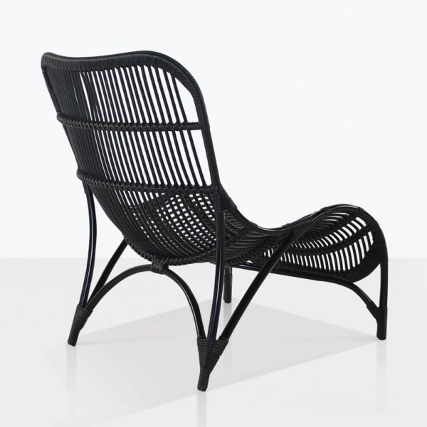 Elle Wicker Outdoor Chair Back