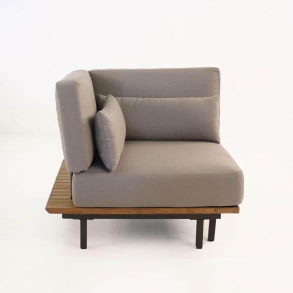 Platform Reclaimed Teak Corner Chair-0