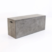 Blok Concrete Letter Box Bench-0