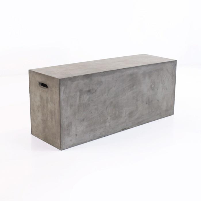 Blok Concrete Letter Box Bench-0