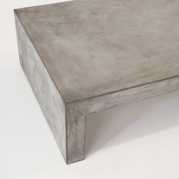 outdoor rectangle modern coffee table