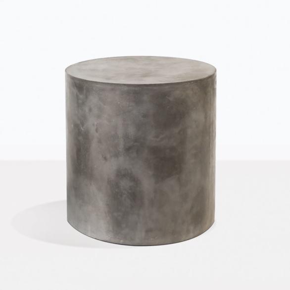 Blok Concrete Round Side Table