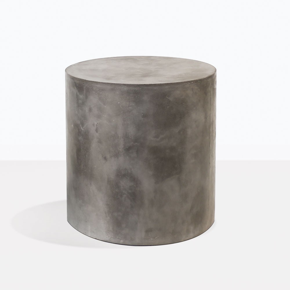 Blok Concrete Round Side Table