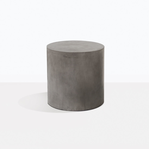 Blok Concrete Round Side Table Small