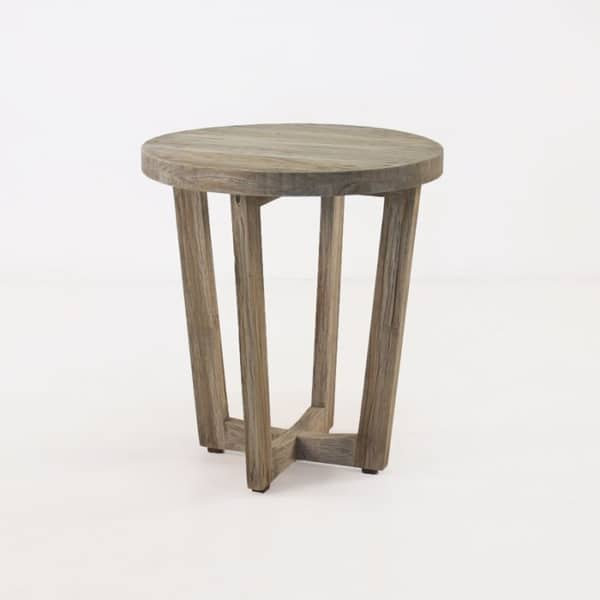 Coco Teak Outdoor Side Table-0