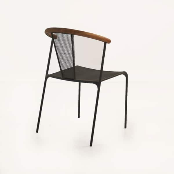 outdoor deco cafe dining chair