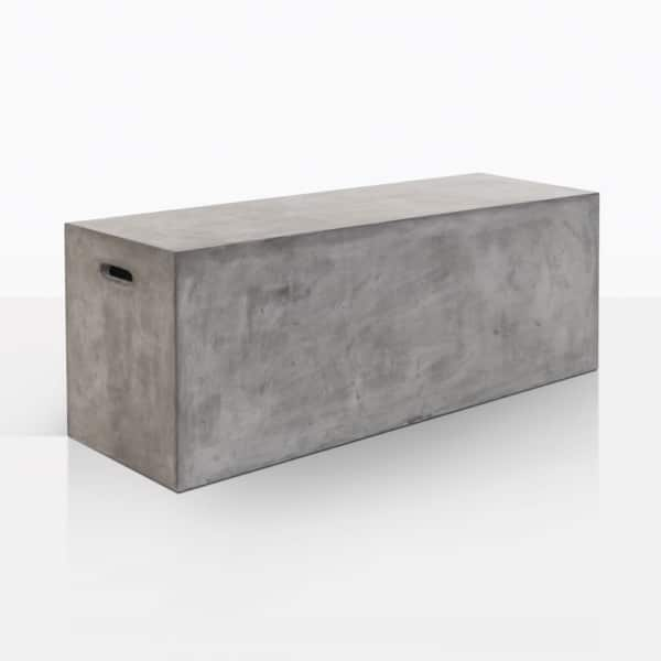 Concrete Letter Box Bench