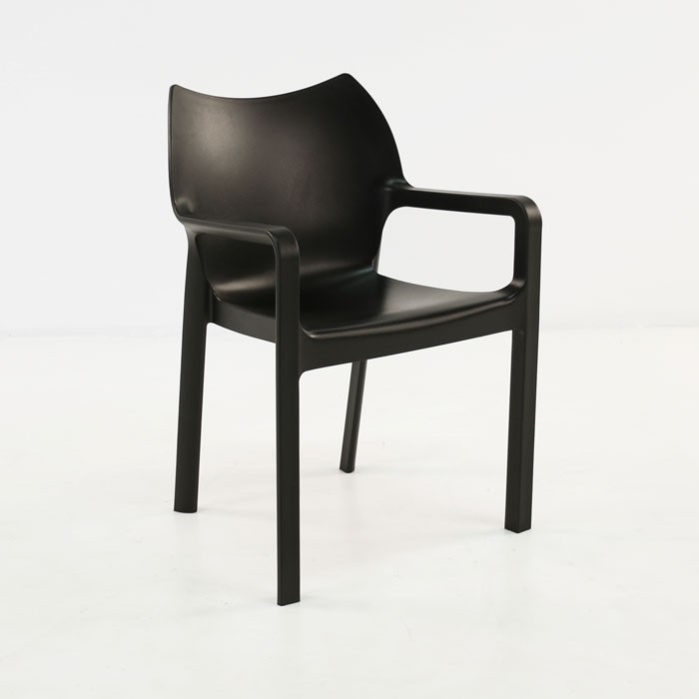 Cape Cafe Dining Chair (Black)-0