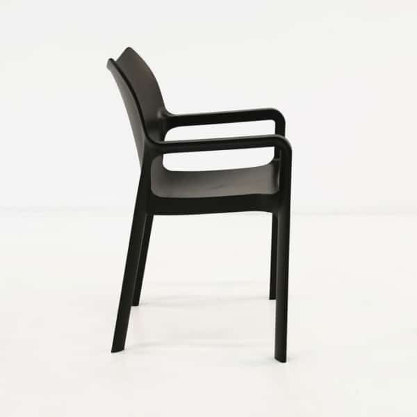 Cafe Dining Chair black side view