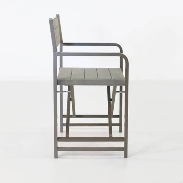 outdoor folding directors dining chair