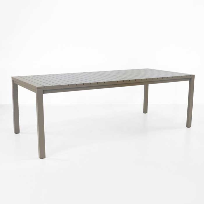 El Fresco Rectangular Dining Table Dining Tables Teak Warehouse - White rectangular outdoor dining table