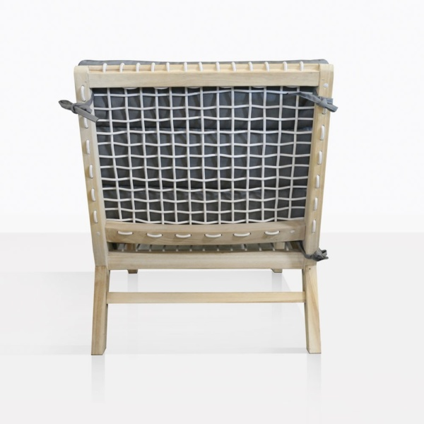 Grace Teak And Rope Relaxing Chair Back