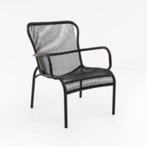 Luxe Outdoor Relaxing Chair (Black)-0