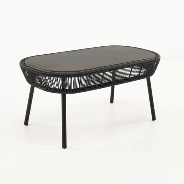 Luxe Outdoor Coffee Table (Black)-0